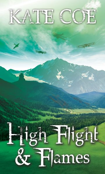 High Flight & Flames Cover